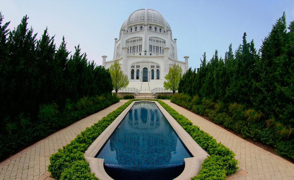 Baha'i House of Worship, IL, USA